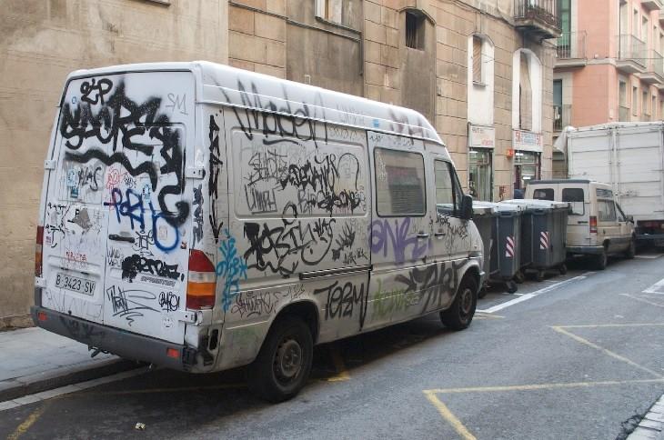 Anti car theft: parking