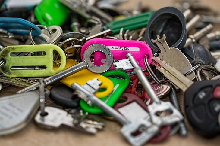 Anti car theft: car keys