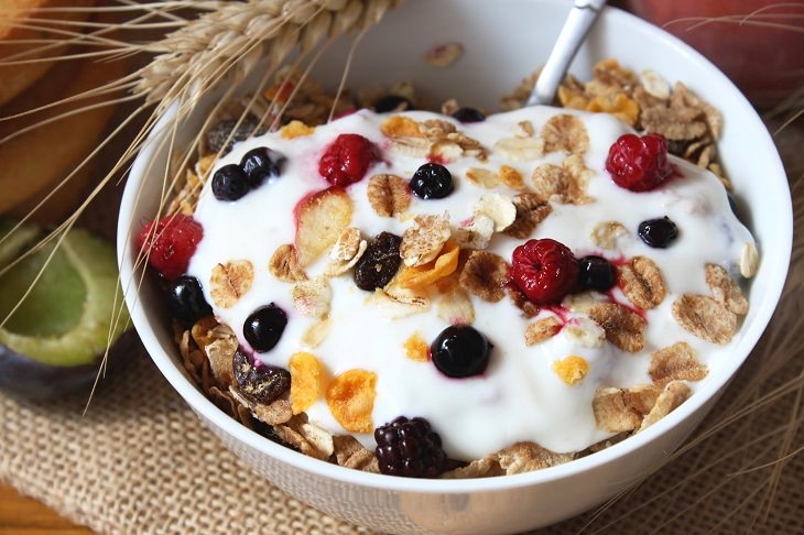 Yogurt and colon cancer: muesli