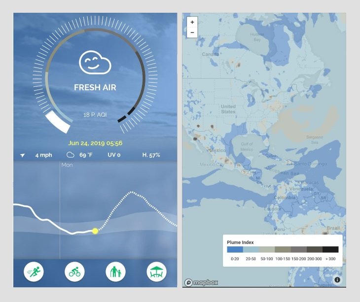 best weather apps Plume Air Report