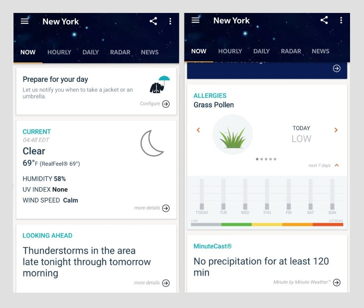 best weather apps AccuWeather