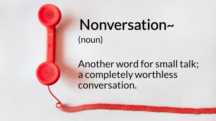 new English words nonversation