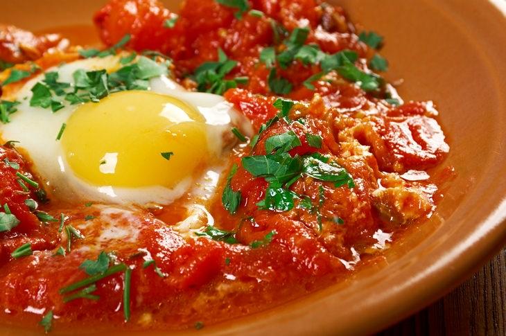 Egg recipes: shakshouka