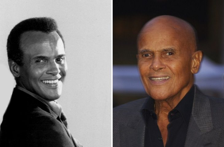 celebrities past their 80s Harry Belafonte (1969 vs 2011)