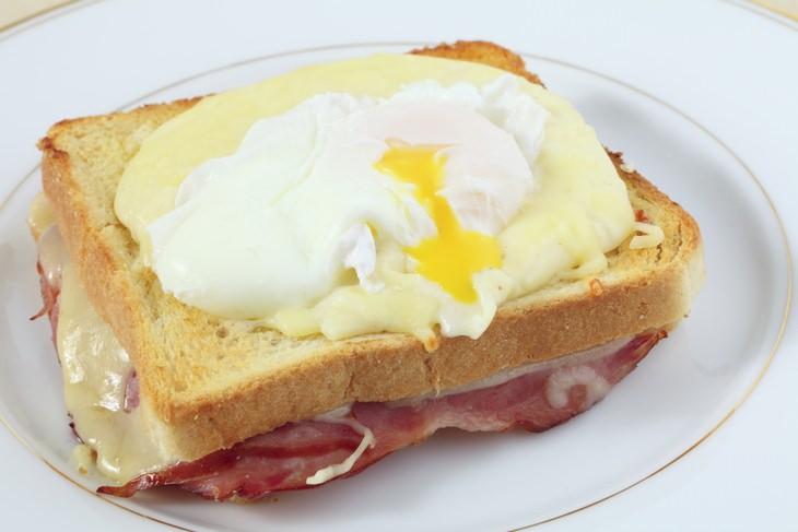 Egg recipes: croque madame