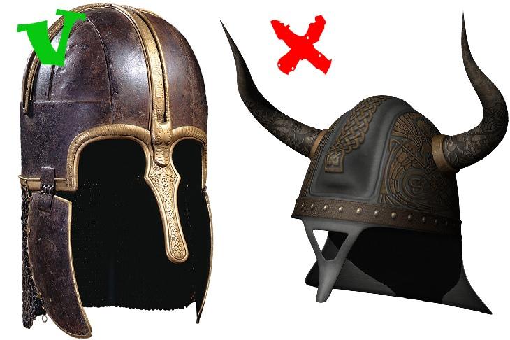 Vikings: helmet
