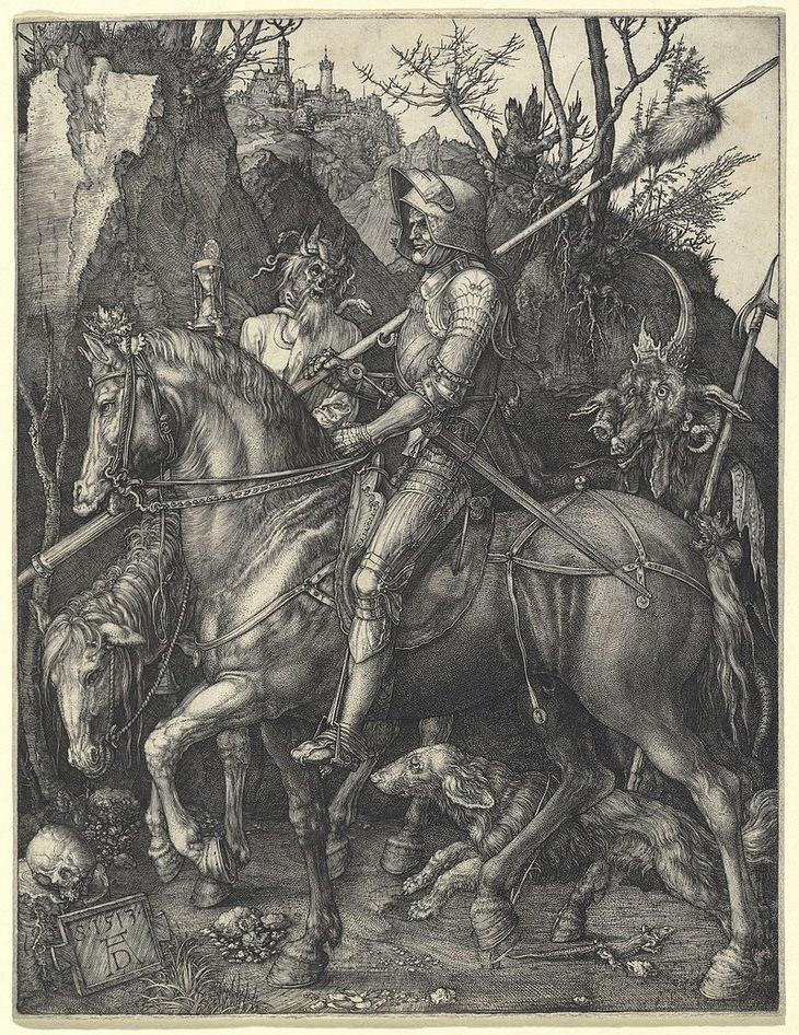 Albrecht Durer: Knight, Death and the Devil