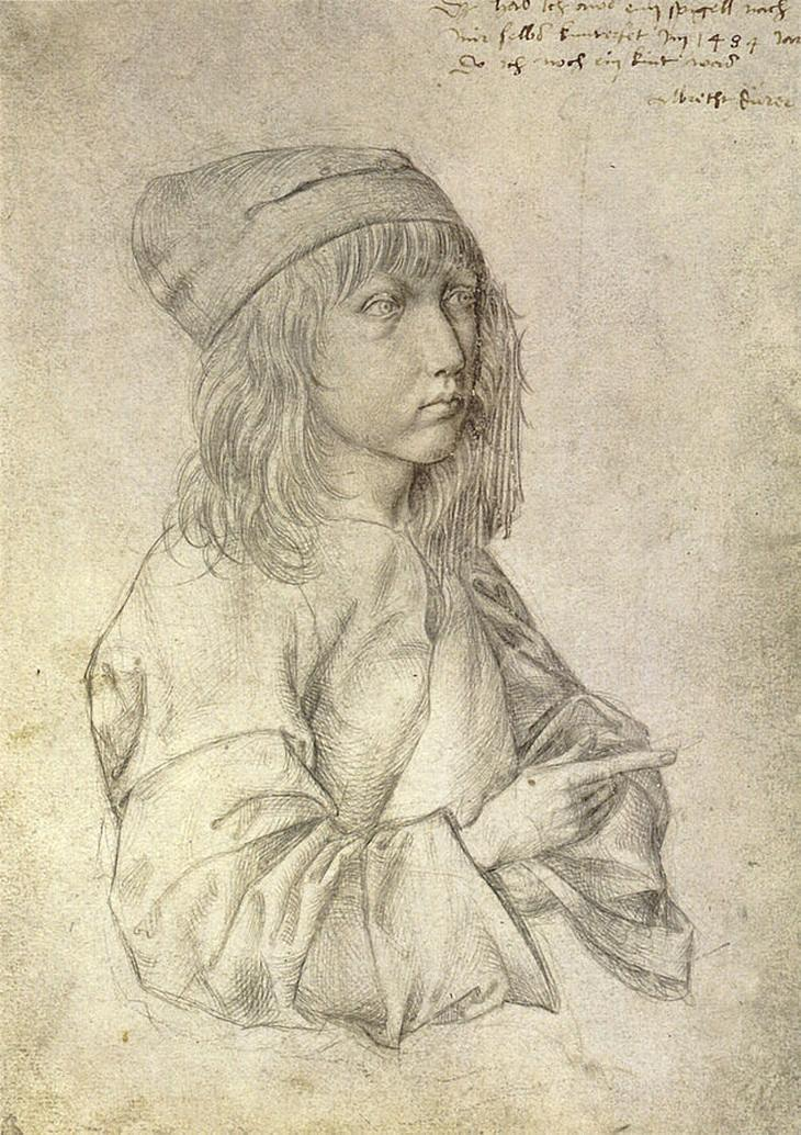 Albrecht Durer: self portrait child