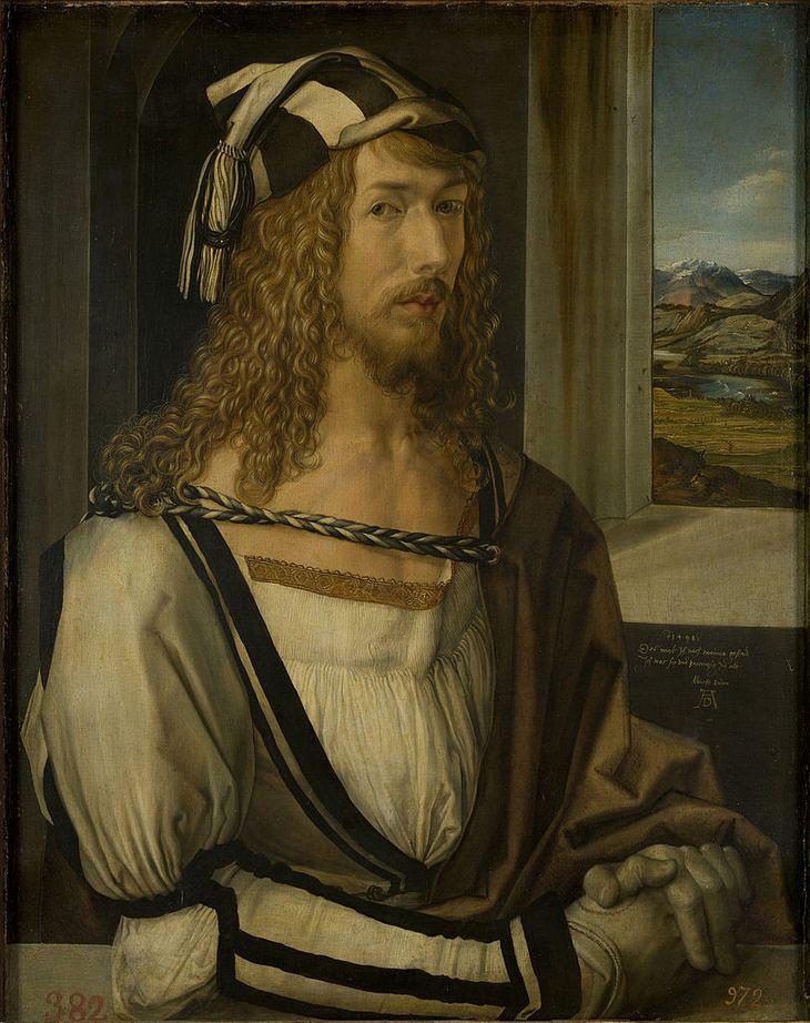 Albrecht Durer: self portrait 26