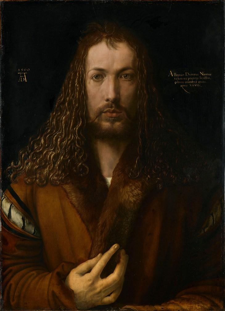 Albrecht Durer: self portrait 28