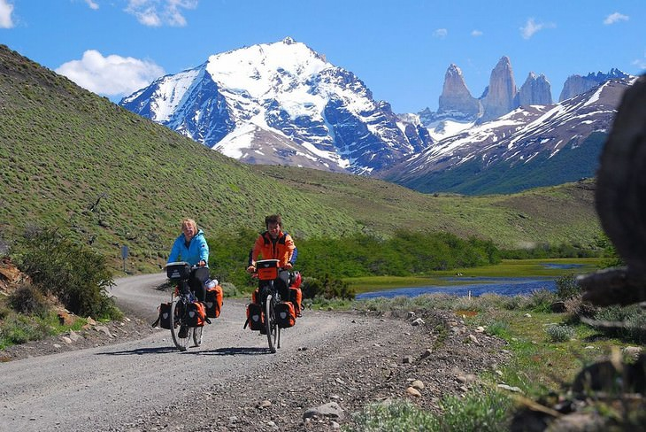 Torres del Paine National Park bike trail