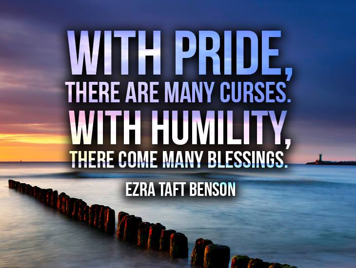 With Pride Or With Humility