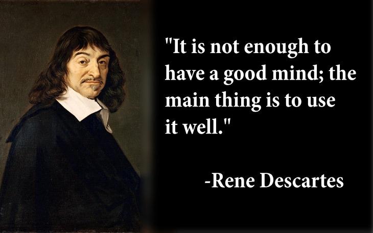 enlightenment famous figures quotes rene descartes