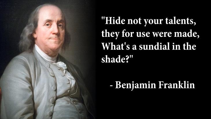 enlightenment famous figures quotes benjamin franklin