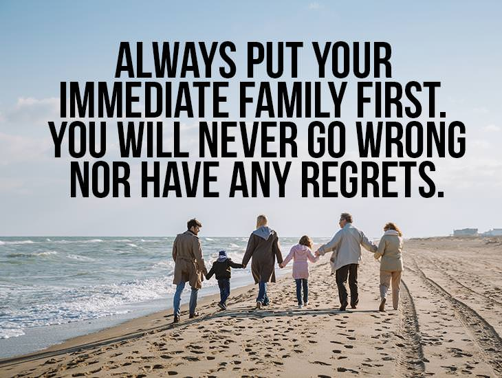 Always Put Your Family First