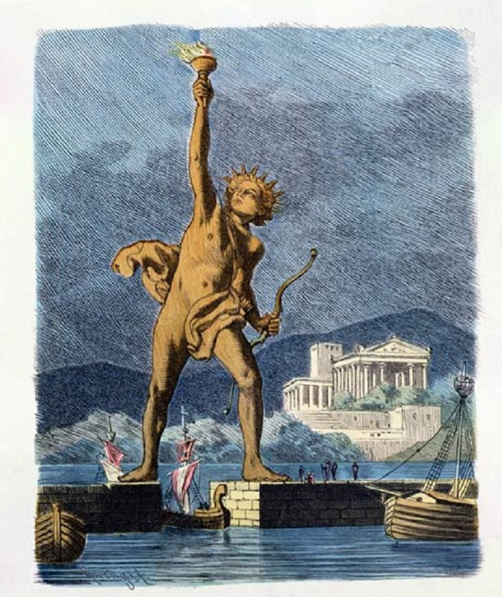 Statue of Liberty: Colossus of Rhodes