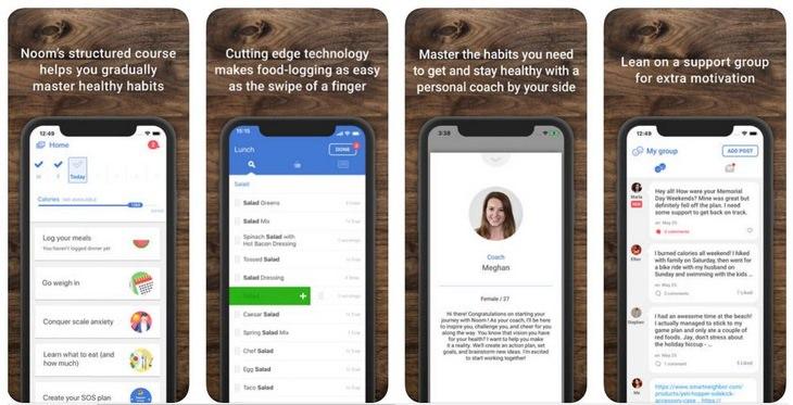 Diet apps: Noom