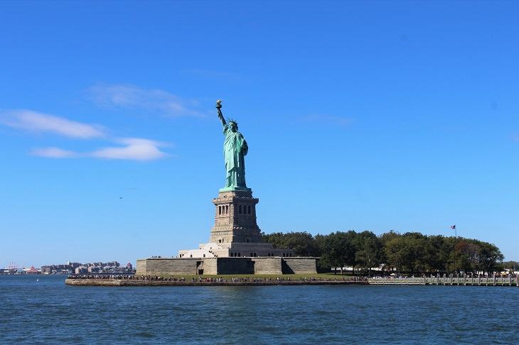Statue of Liberty: island