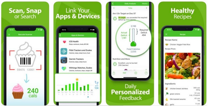 Diet apps: MyNetDiary
