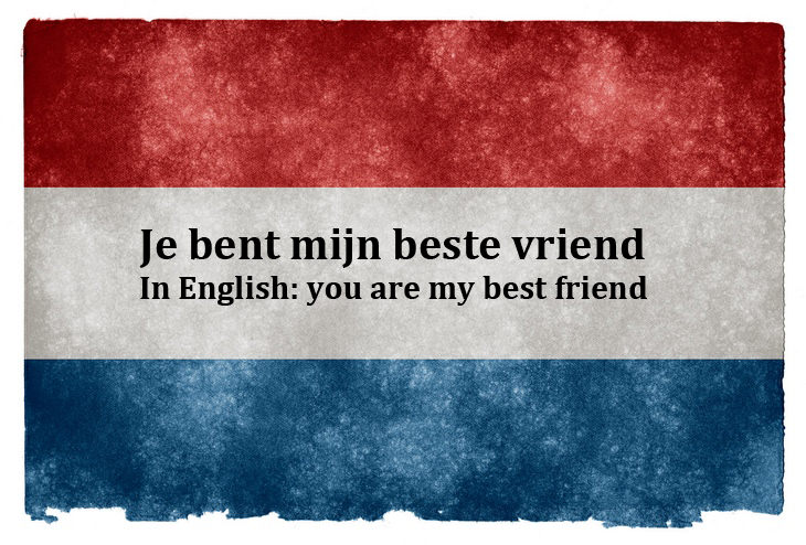 Closest languages to English: Dutch