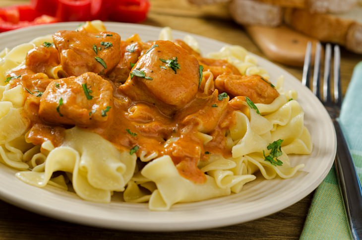 Chicken recipes: paprikash