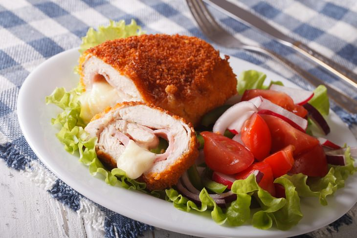 Chicken recipes: cordon bleu