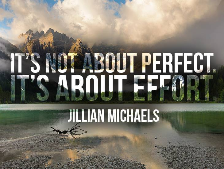 It's Not About Perfect