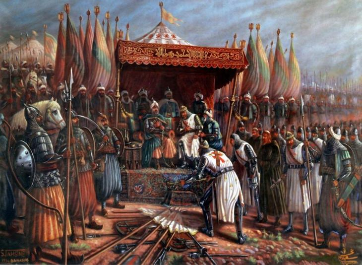 Greatest generals and warriors: Saladin