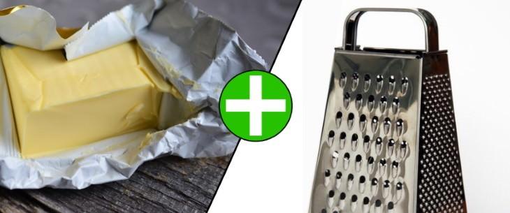 baking tips grating butter