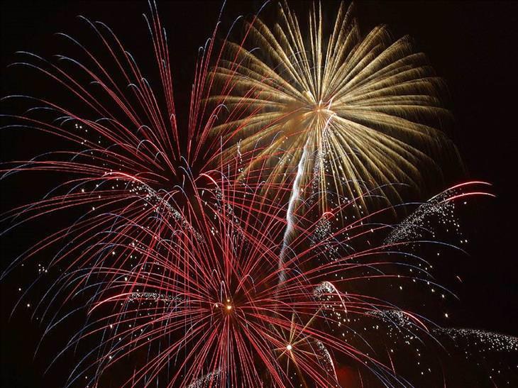 Firework safety: fireworks display