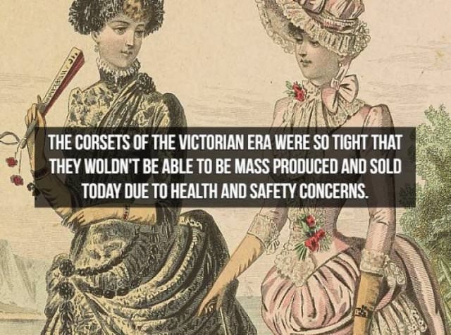 Facts about the Victorian Era corsets