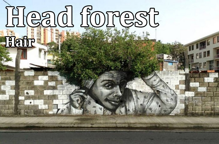 Kennings: head forest