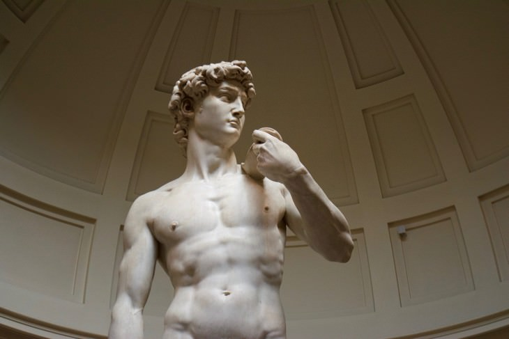 11 places where photography is forbidden Michelangelo's Statue of David Galleria dell'Accademia,Florence, Italy