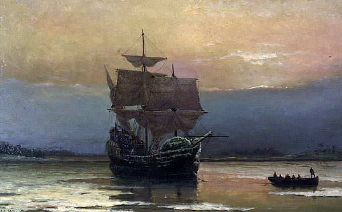 USA quiz: Mayflower
