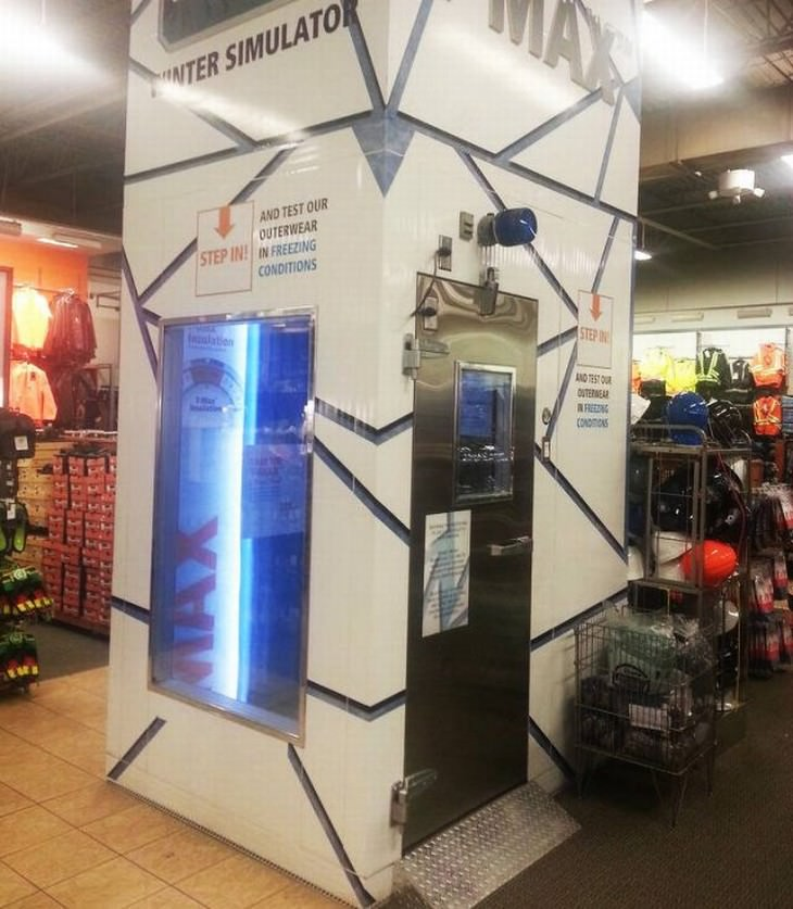 clever gadgets and inventions found in store winter simulator