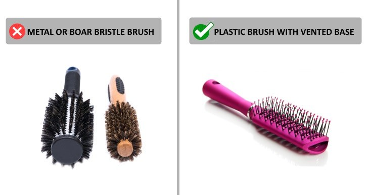 habits that cause hair loss hair brushes