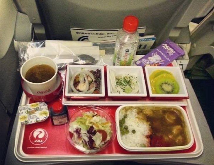 Airplane food: japan airplanes