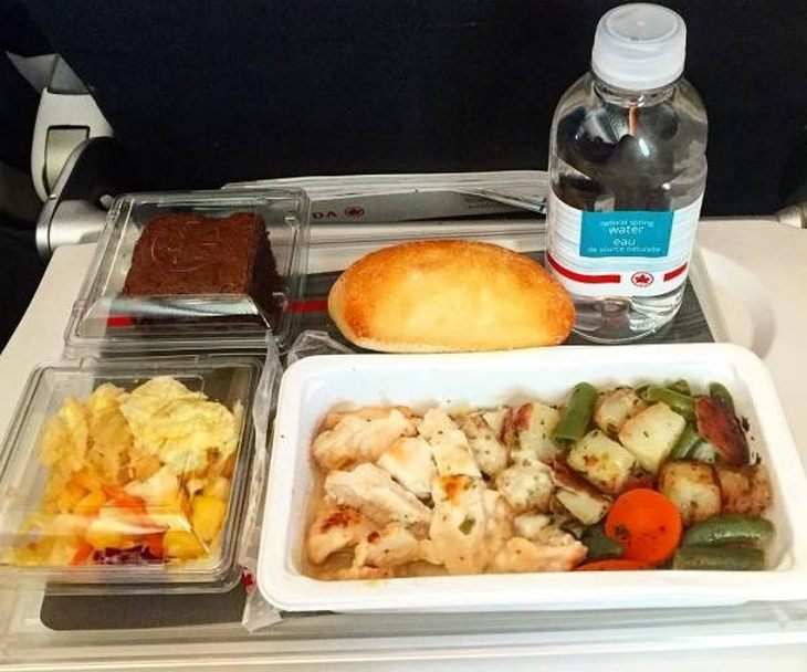 Airplane food: air canada