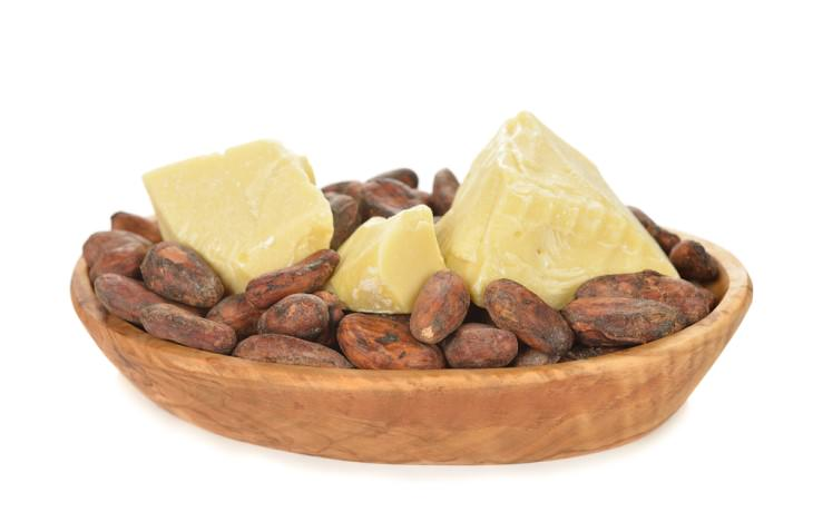 getting rid of a double chin: cocoa butter