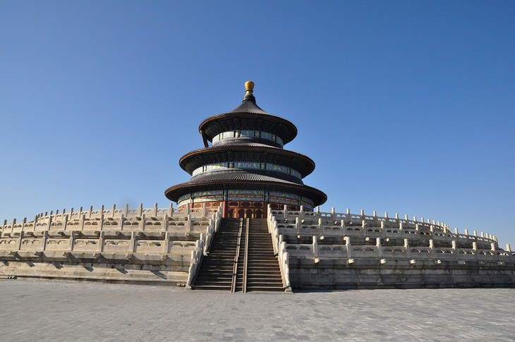 Beautiful houses of worship: Temple of Heaven Beijing China