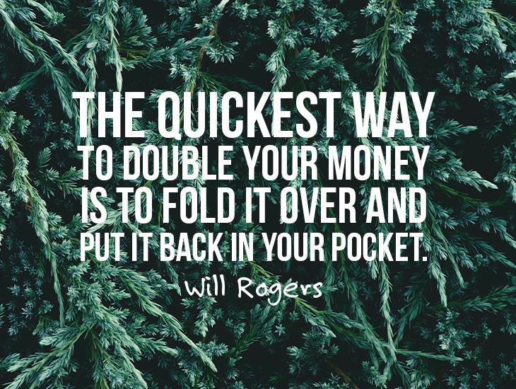The Quickest Way To Double Your Money