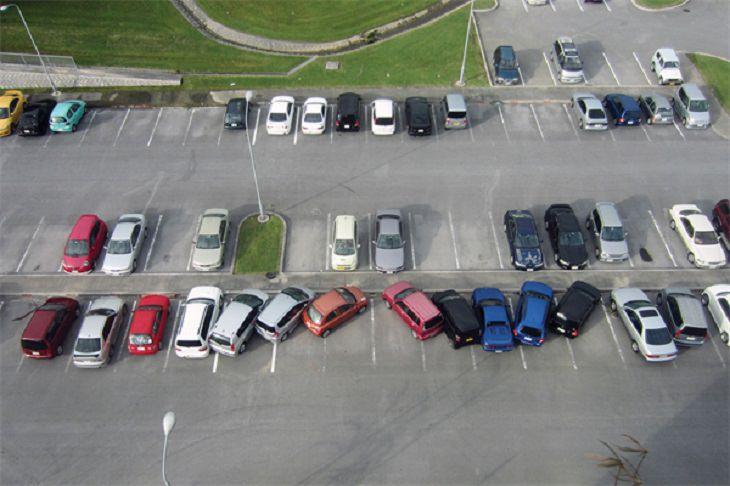 Parking fails: stupidity