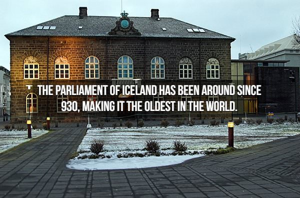 historical fact: Althing Icelandic parliament