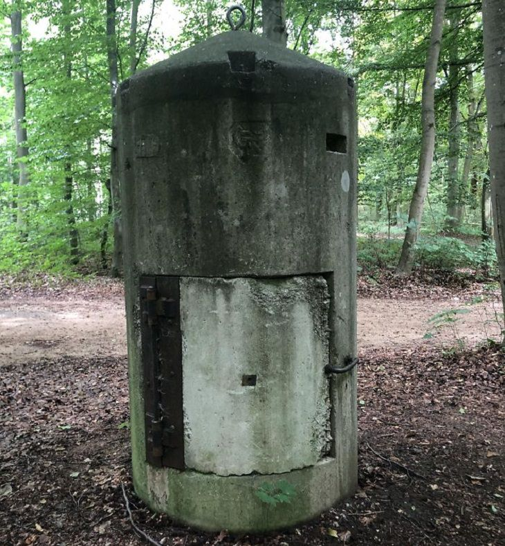 Mysterious objects: bomb shelter