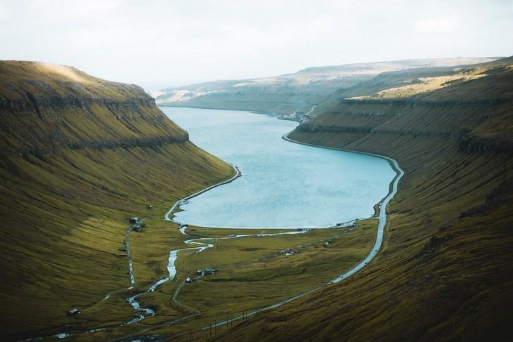 Faroe Islands inlet