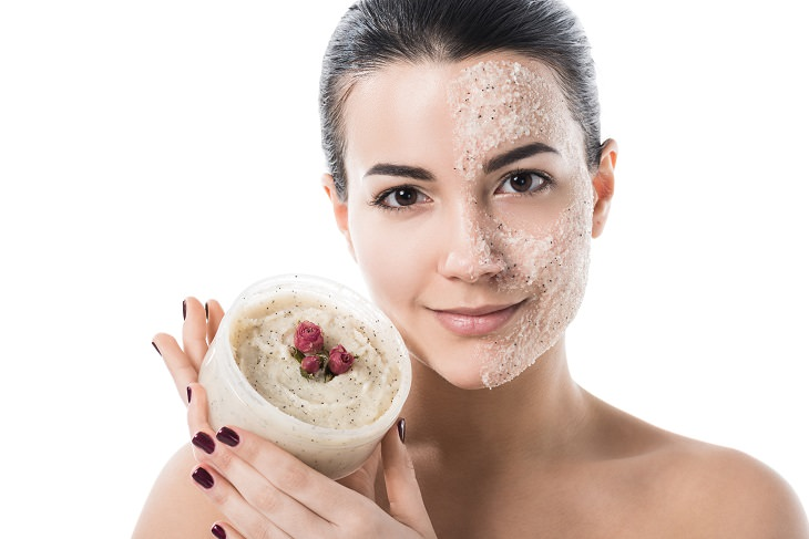 Facial scrubs: exfoliation