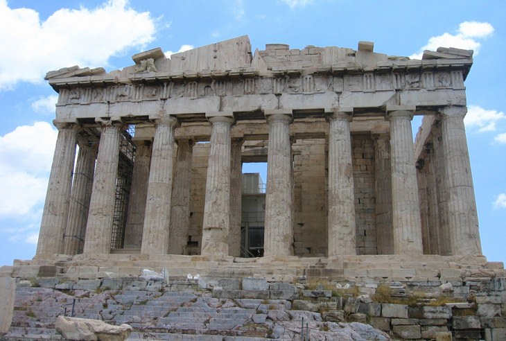 Ancient Cities: Athens Greece Acropolis Parthenon