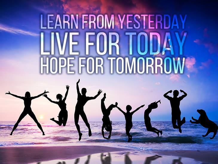 Live For Today!