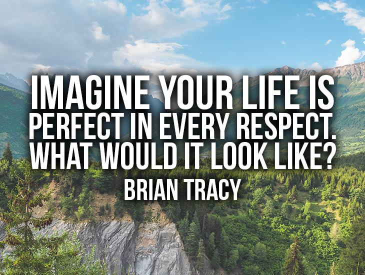 Imagine Your Life Is Perfect In Every Respect