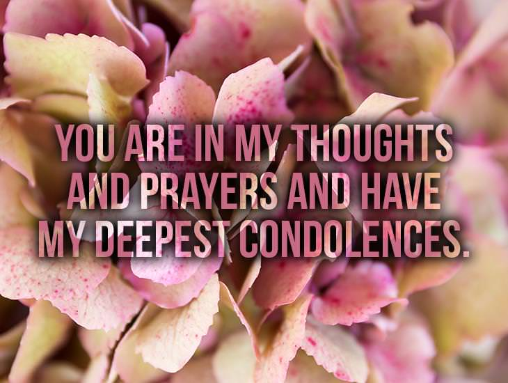 You Are In My Thoughts And Prayers